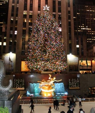 rockefeller center new york - 65ft Christmas Tree