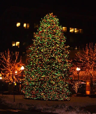 The Gateway's Christmas Tree, Salt Lake City