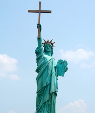 The Statue of Liberation Through Christ, Memphis