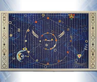 Time Bandits Space-Time Map