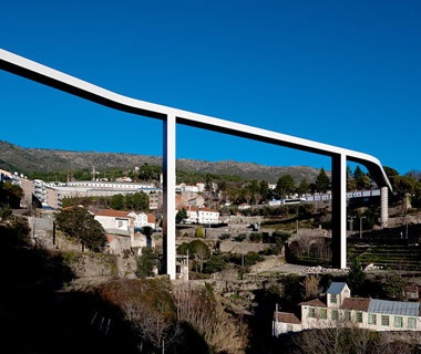 Pedestrian Bridge in Covilhã, Portugal