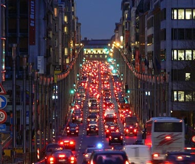 Tax or bonus to solve Brussels' traffic congestion ...