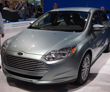 Ford Focus Electric Car