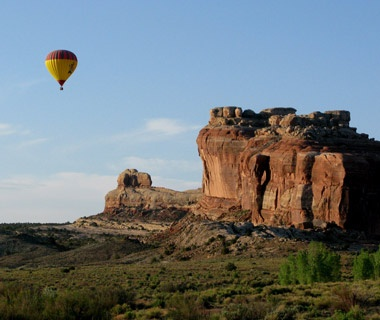Biking and Ballooning in Moab, UT