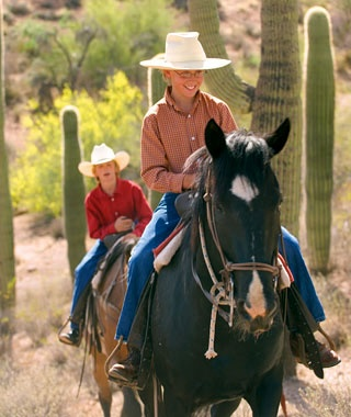 Playing Cowboy in Wickenburg, AZ