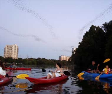Biking and Kayaking in Austin