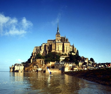 Mont St. Michel,Normandy, France