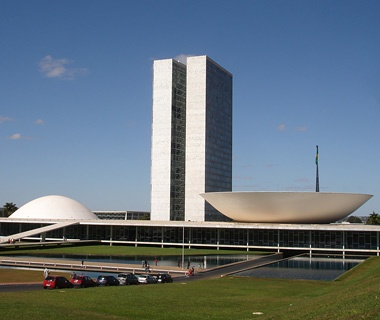 National Congress Hall,Brasilia, Brazil