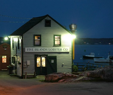 FiveIslands Lobster, Georgetown, ME