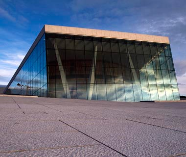 New NorwegianOpera and Ballet, Oslo, Norway