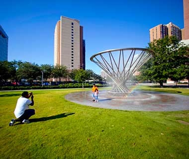 Discovery Green Park, Houston