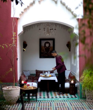 Johnny Depp & Vanessa Paradis — SanssouciCollection, Marrakesh