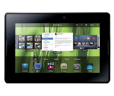 Tablet: BlackBerry PlayBook