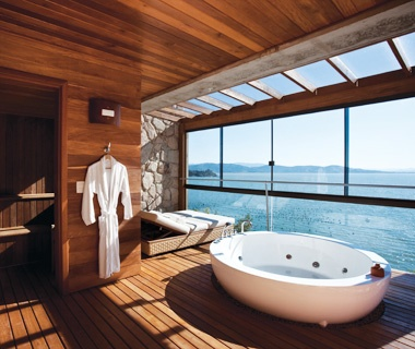 World S Coolest Hotel Bathrooms Travel Leisure
