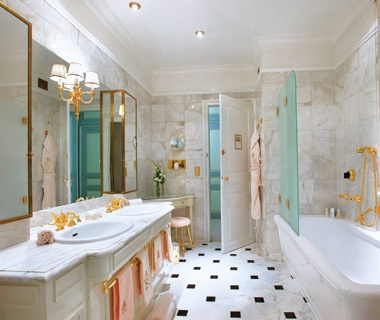 The Ritz Paris. World s Coolest Hotel Bathrooms   Travel   Leisure