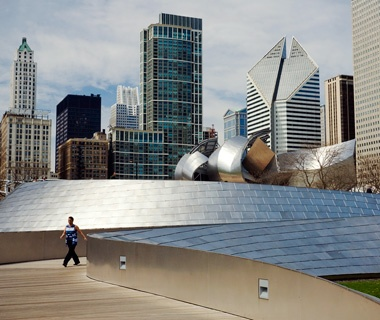 BP Bridge, Millennium Park, Chicago
