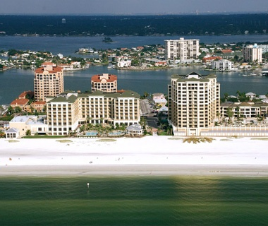 Sandpearl beach-front Resort in Clearwater Beach, FL