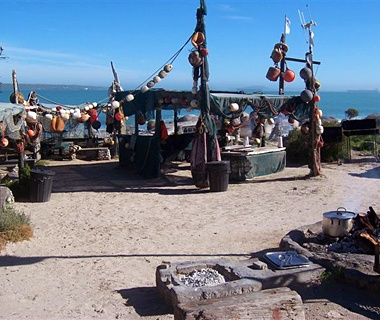 Die Strandloper Seafood Restaurant: Langebaan, South Africa