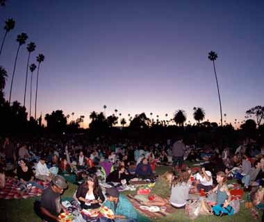 Cinespia at The Hollywood ForeverCemetery, Los Angeles