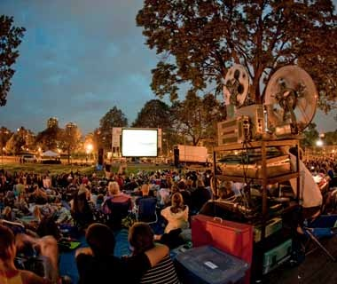 Summer Music & Movies at Loring Park, Minneapolis