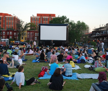 Summer Screen,NoMa, Washington,D.C.