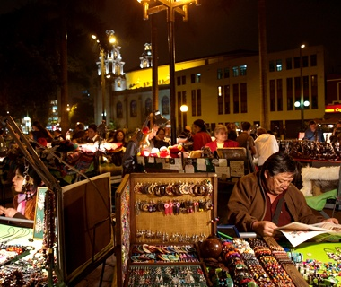 Barranco Night Market, Lima, Peru