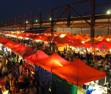 The Summer Night Market, Richmond, BC