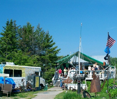 Tom'sBurned Down Café, Madeline Island, Lake Superior, WI