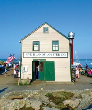 Five Islands Lobster Co., ME