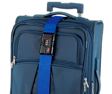 Safe Skies TSA Luggage Strap travel accessory