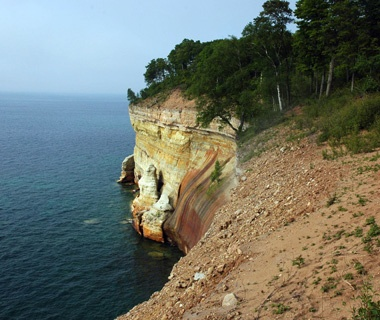 North Country Trail, Pictured Rocks National Lakeshore, MI