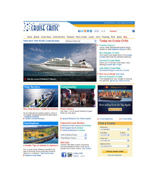 Find a Cruise That's Right for You: CruiseCritic