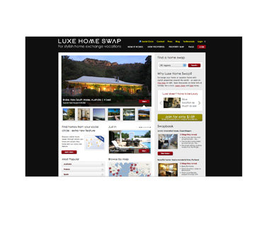 Trade Your House: Luxe Home Swap