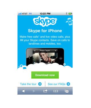 Stay in Touch: Skype