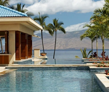 infinity pool at the Four Seasons Resort Maui at Wailea, HI
