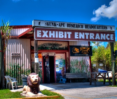 Skunk-Ape Research Center, Ochopee, FL