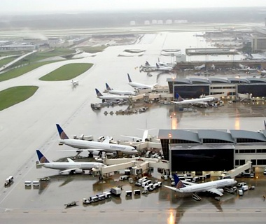 No. 3 George Bush Houston Intercontinental (IAH)