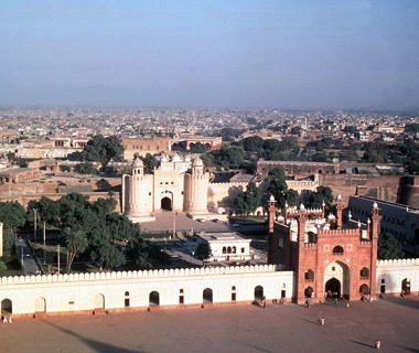 Lahore Fort and Shalimar Gardens, Pakistan