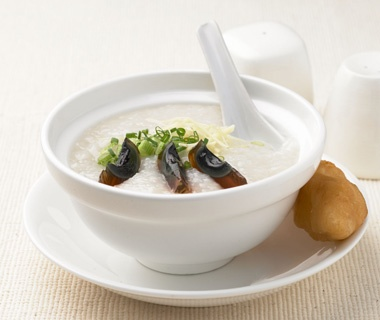 China:Congee with Century Eggs