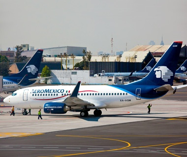 No. 8 (International): Aeromexico