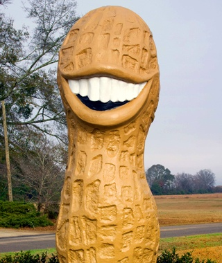 Jimmy Carter Peanut, Plains, GA