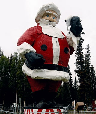 World's Largest Santa Claus; North Pole, AK