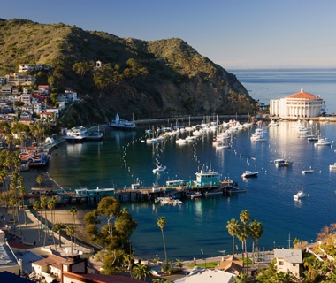 Southern California: Between Long Beach (Los Angeles)and Avalon on CatalinaIsland