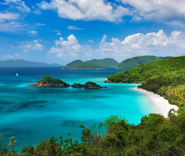 U.S. Virgin Islands: Between St. Thomas and St. John
