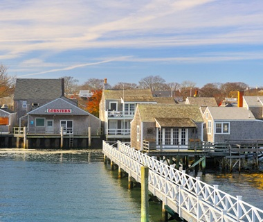 Massachusetts: Between Hyannis and Nantucket on Nantucket Island