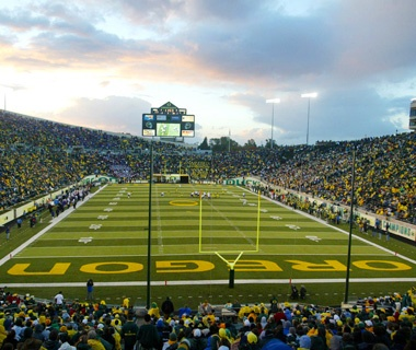 Autzen Stadium: Eugene, OR