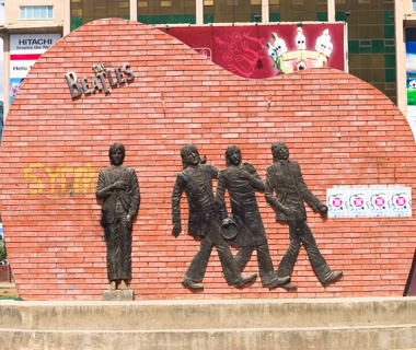 Beatles Monument, Mongolia