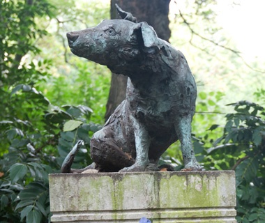 Brown Dog Statue, London
