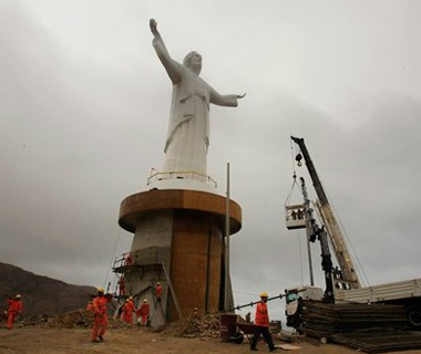 Christ of the Pacific, Peru