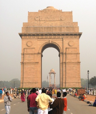 India Gate and Canopy, New Delhi